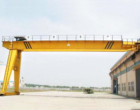 Double Girder Semi Gantry Crane