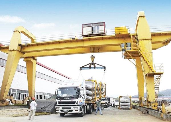 Heavy Duty Motorized Gantry Crane