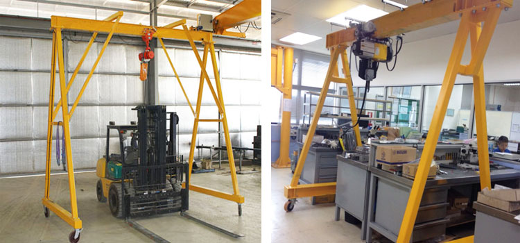 Lightweight Mobile Gantry Crane