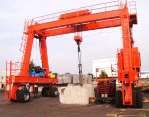 Rubber Tyred Gantry Crane Price