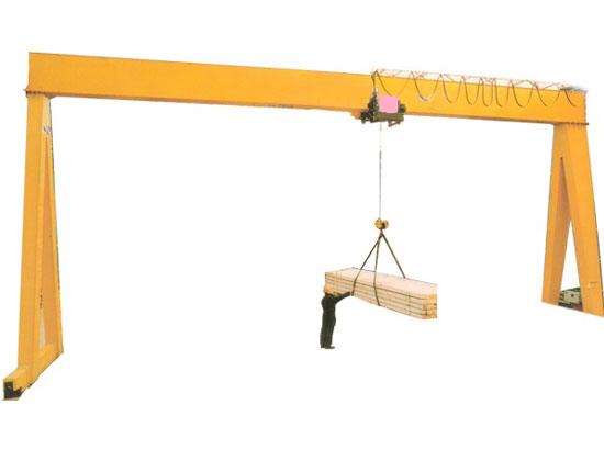 Single Girder Gantry Crane Supplier