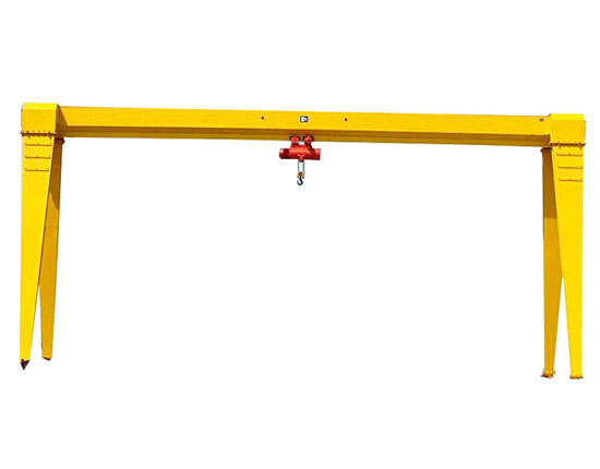 Single Grider Gantry Crane 6 Ton