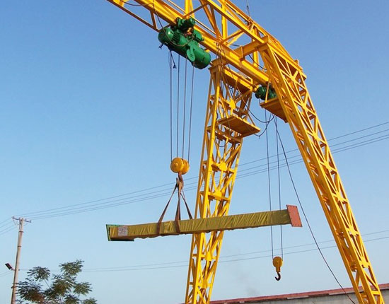 Single Beam Truss Gantry Crane
