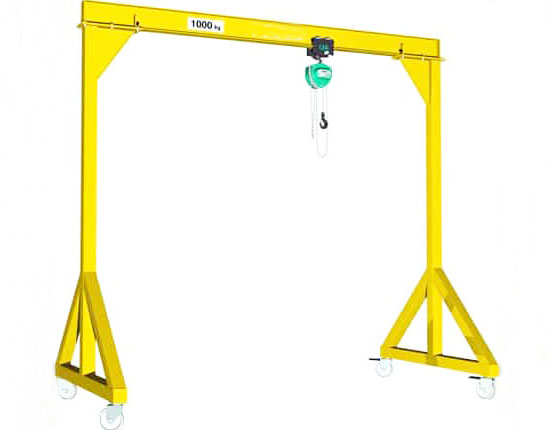 Small Mobile Gantry Crane