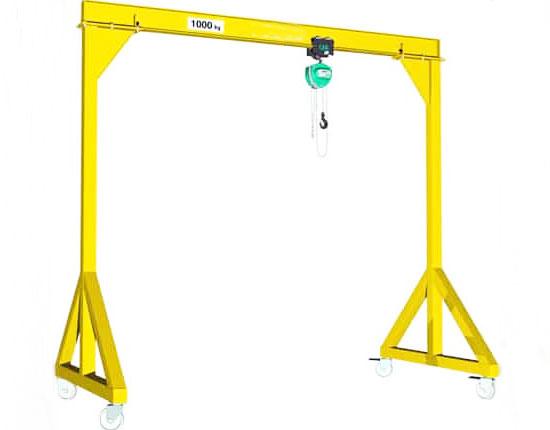 Small Mobile Gantry Crane