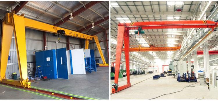 Different Types of Gantry Cranes