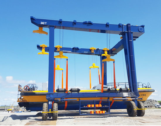 250 Ton Travelift Supplier