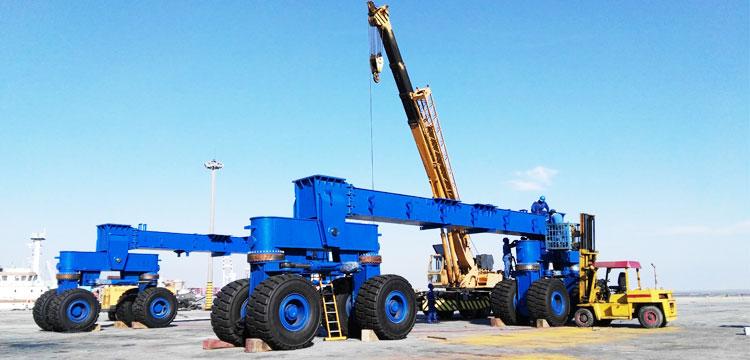 300 Ton Travel Lift Installation