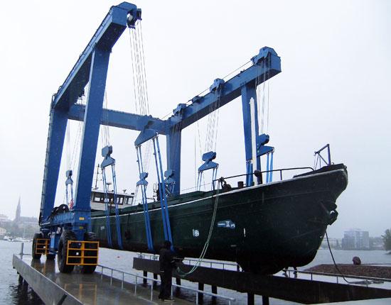 Marine Travel Lift Manufacturer