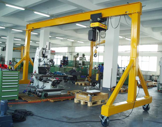 Small Portable Gantry Crane