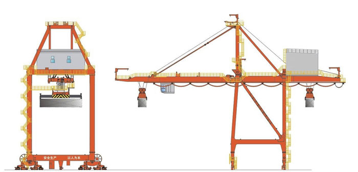 Ship to Shore Gantry Crane Design