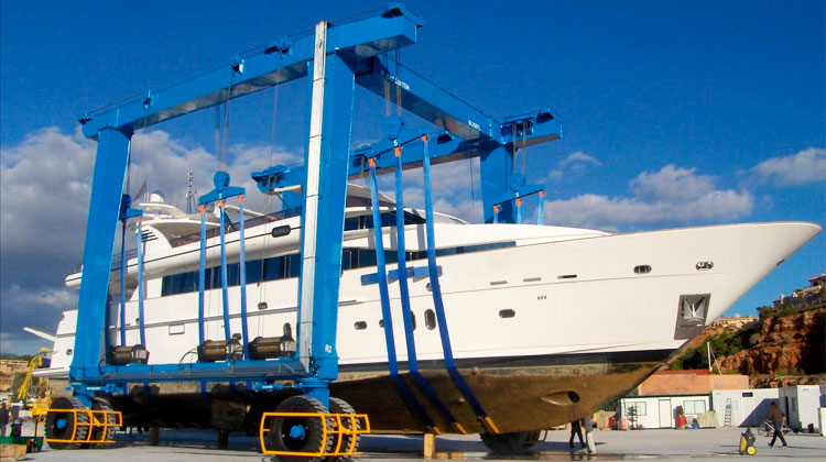 Yacht Travel Lift Cost