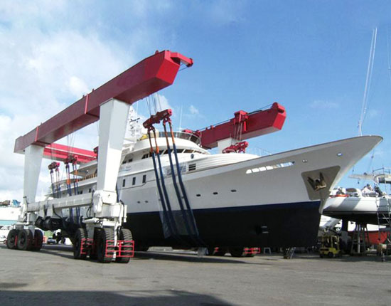 Boat Travel Lift Cranes Manufacturer