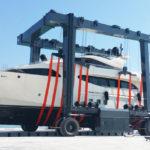Mobile Boat Crane