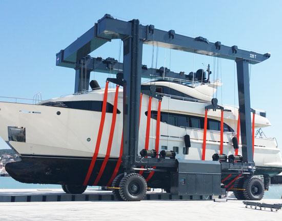 Ellsen Mobile Boat Crane