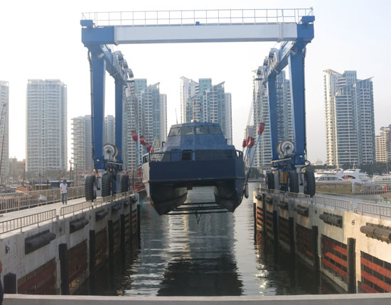 Marine Boat Travel Lift