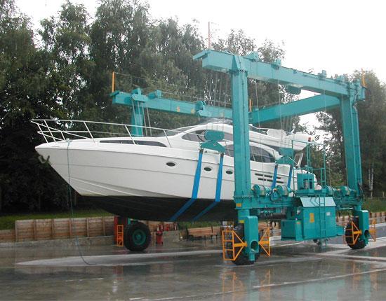 Marine Hoist Crane Supplier