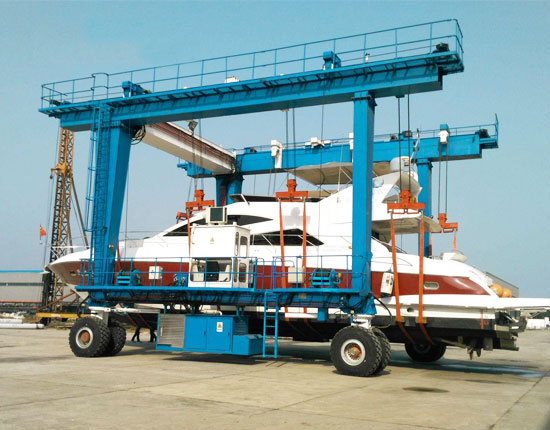 Mobile Boat Gantry Crane