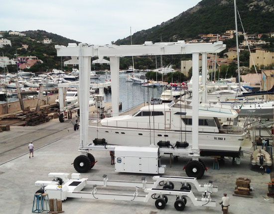 Yacht Travel Lift for Sale