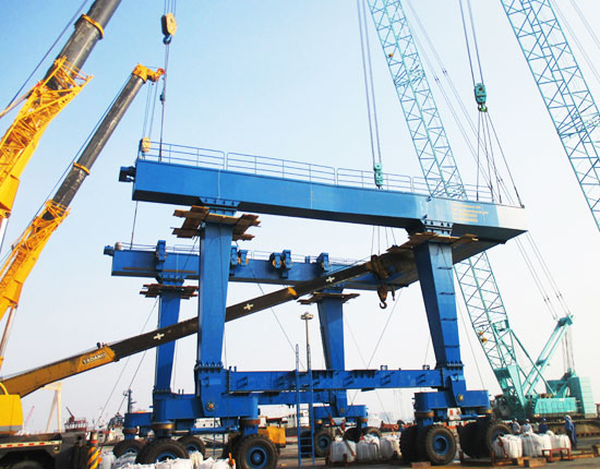 300 Ton Mobile Boat Lift