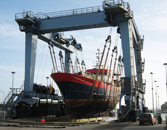 Large Boat Crane for Sale