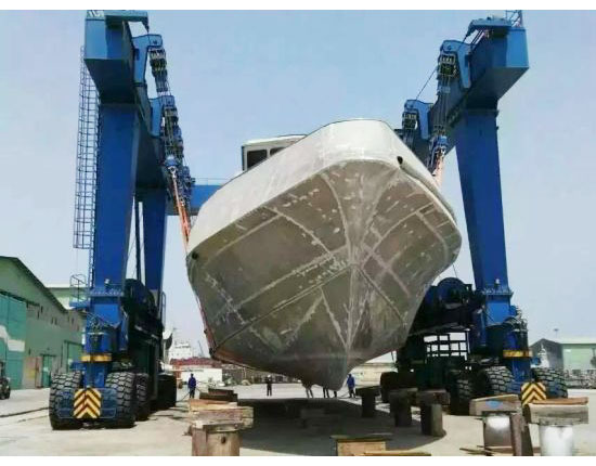 Rubber Tyred Gantry Crane for Boat