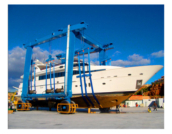 Yacht Travel Lift Supplier