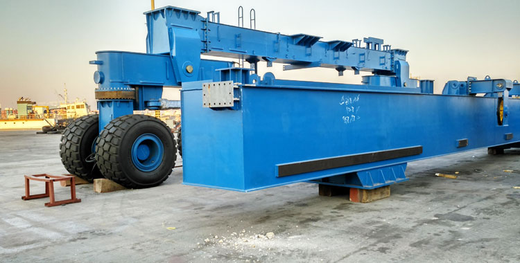 300 Ton Boat Hoist From Customer Site