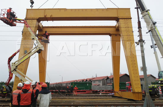 Double Girder Gantry Crane Installation
