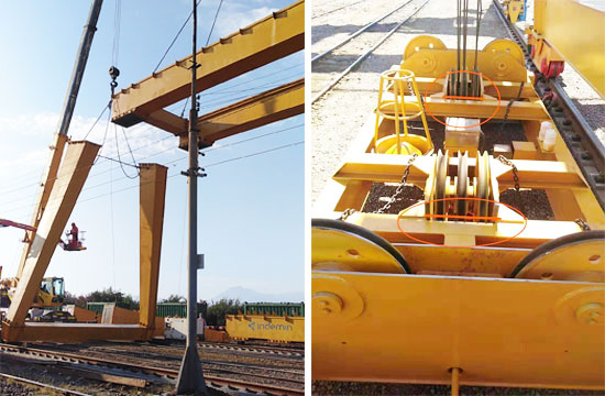 Gantry Crane in Chile