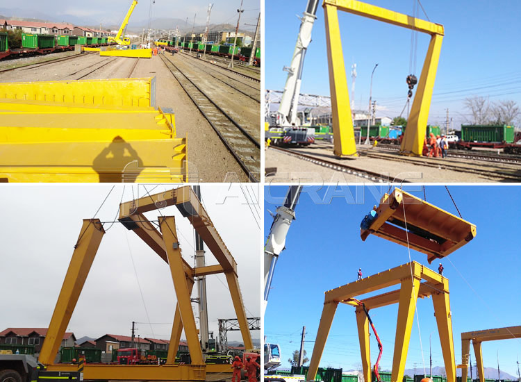 Gantry Crane Installation Process