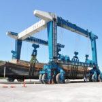 Boat Hoist Crane