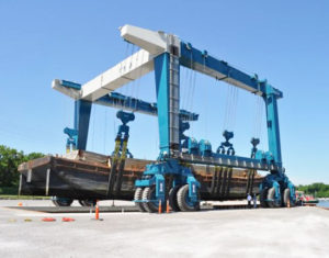 Boat Hoist Crane Supplier