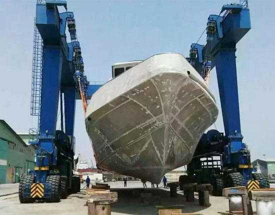 Mobile Boat Crane Sales
