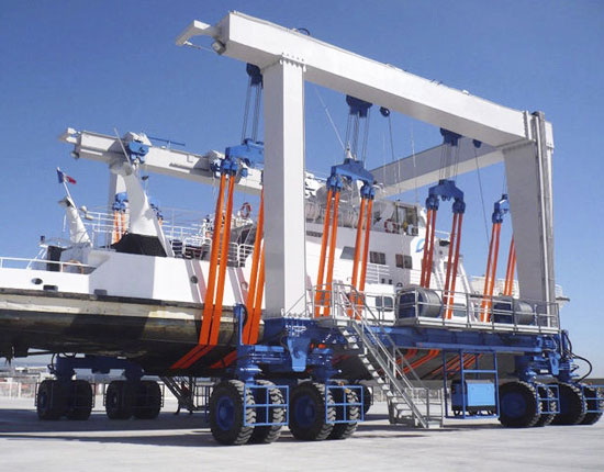 Mobile Boat Lift
