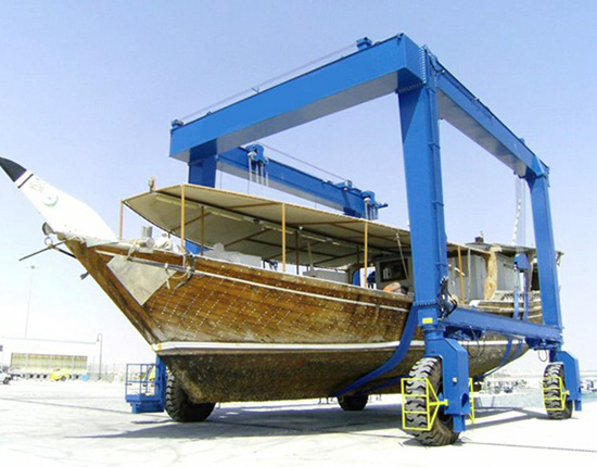 50 Ton Travel Lift