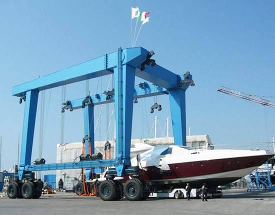 Boat Travel Lift 50 Ton