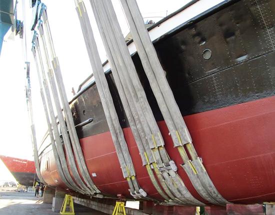 Boat Travel Lift Slings