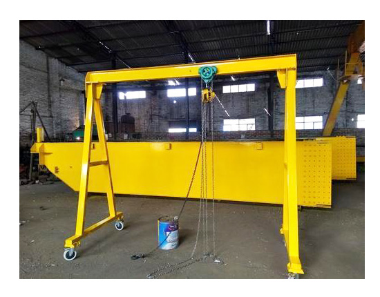 Portable 1 Ton Gantry Crane