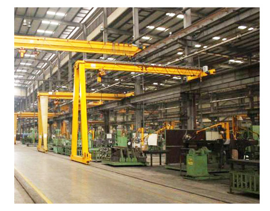 Semi Gantry Crane for Shop