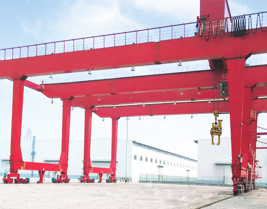 U Type Double Girder Gantry Crane for Container