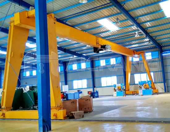 Single Girder 10T Gantry Crane