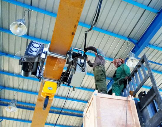 10 Ton Gantry Crane Installation