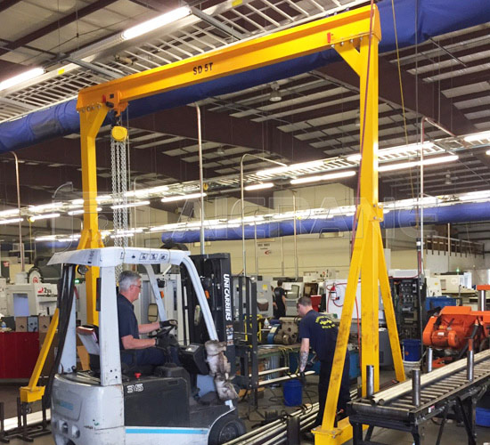 5 Ton Portable Gantry Crane