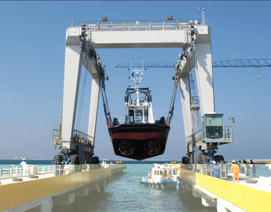 500 Ton Travel Lift