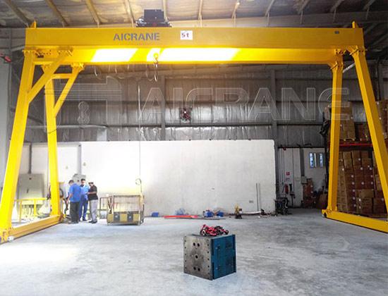 Double Girder Hoist Gantry Crane