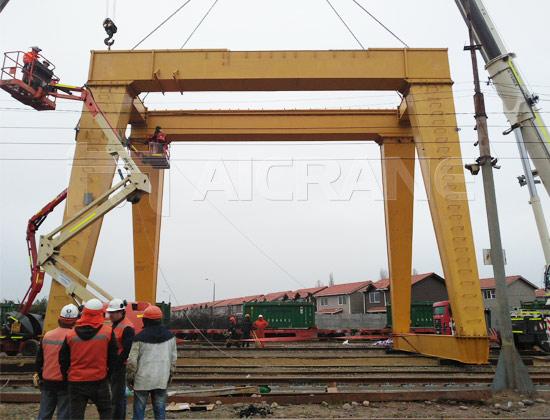 Double Girder Gantry Crane Installation