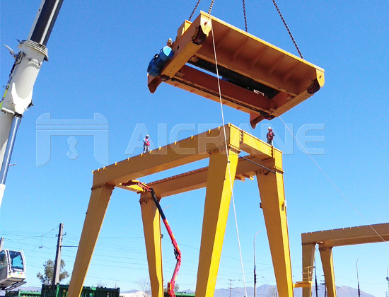 Gantry Crane for Chile Client