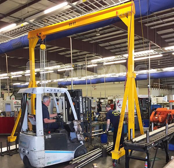 5 Ton Portable Crane