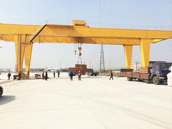 U-shaped Double Girder Gantry Crane For Sale